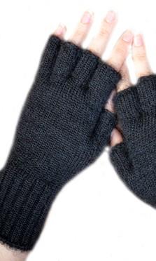 Bonnets, gants et mitaines mohair et soie