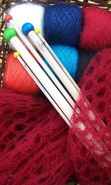 Kits tricot mohair et soie